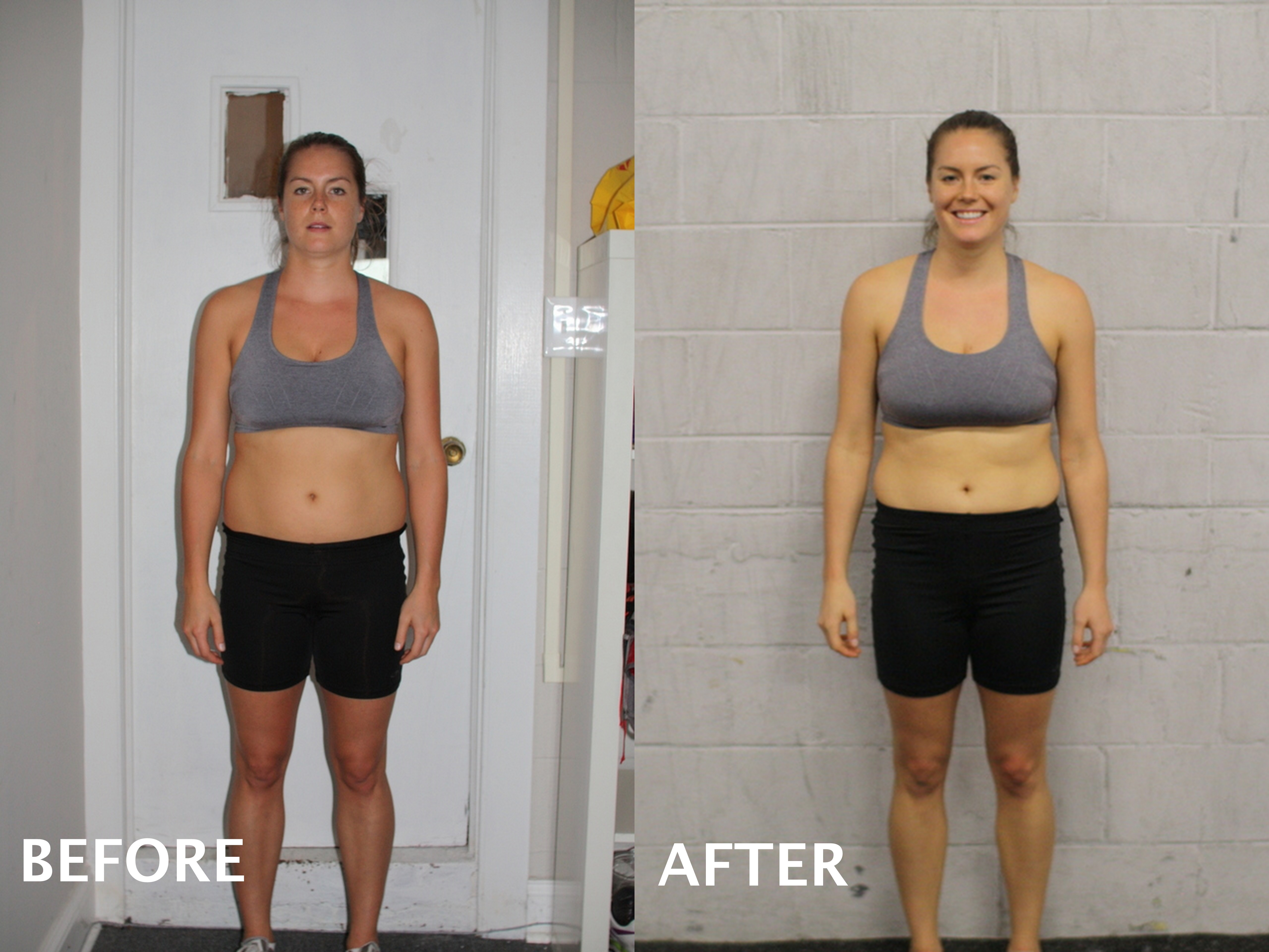 Fall 2013 Nutrition Challenge Results, Before And After