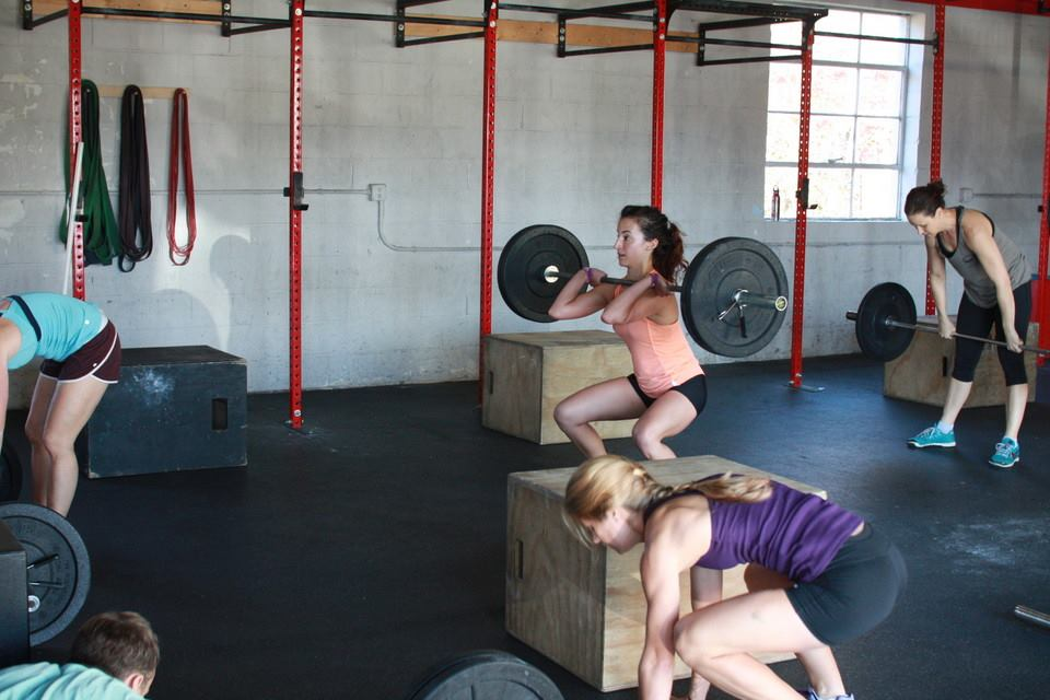 Wednesday Workout Run Thruster Jump Sit Up Crossfit